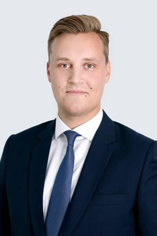 Tony Koivula, Associate<br>Transfer Pricing Services, Alder & Sound