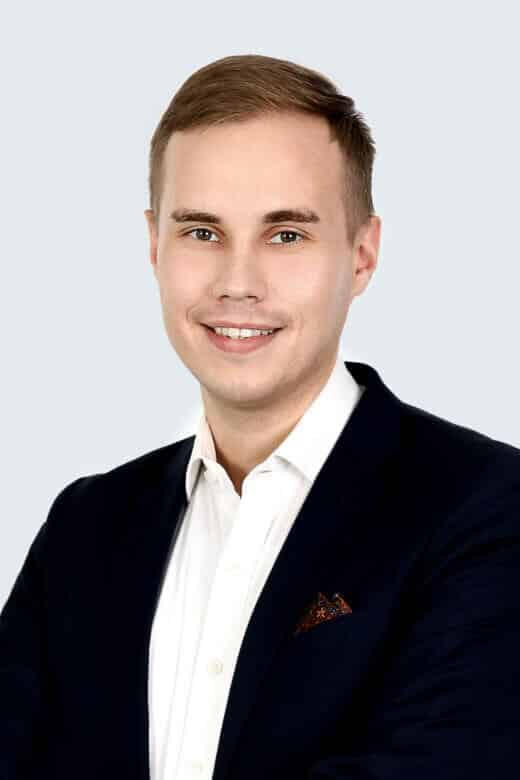 Henri Lyyski, Senior Associate<br>Tax &Legal Services, Alder & Sound