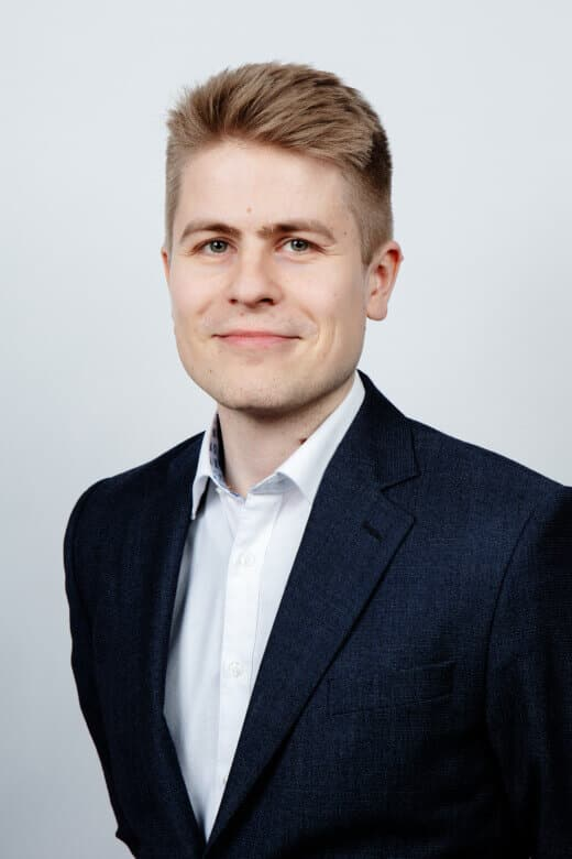 Jaakko Damskägg, Associate<br>Financial Advisory Services, Alder & Sound